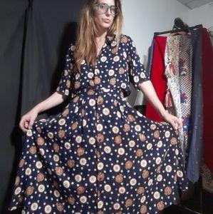 1980's two-piece Pendleton skirt set